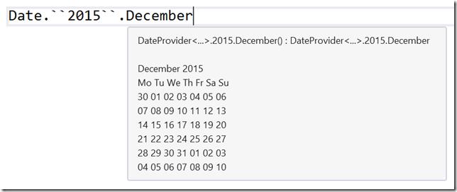 2015 December Calendar