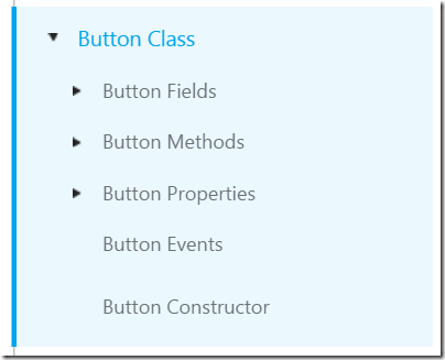 Button class docs