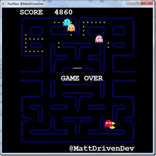 MattDrivenDev Pacman