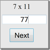 Times Tables Java Script