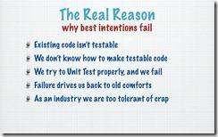 Unit Testing - Real Reason